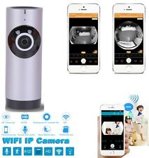 Panoramic View Home Security Camera Clever WiFi Monitor For Smart phones Tablet