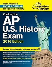 College Test Preparation: Cracking the AP U. S. History Exam, 2016 Edition by...