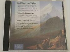 JAMES CAMPBELL (CLARINET) CD Heinrich Baermann Carl Maria von Weber