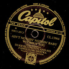 DUKE ELLINGTON & ORCH. Ain't nothin'nothin' Baby without you   78rpm   X2541