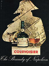 PUBLICITE ADVERTISING 025  1960  COURVOISIER  the Brandy of NAPOLEON