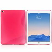 Screen Protector/S line Skin Soft Gel Back Case For  Apple iPad Air