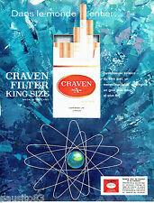 PUBLICITE ADVERTISING 036  1964  Craven A  cigarettes
