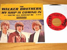 60s ROCK 45 RPM w/PICTURE SLEEVE- THE WALKER BROTHERS - SMASH 2016