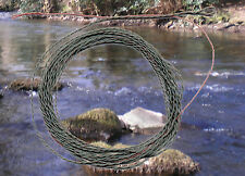 Trout: Forward tapered 3.0 m Tenkara Furled leader/line light with orange tip