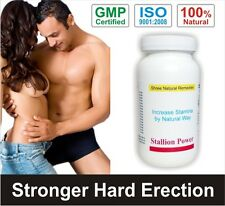 Stallion Power. Stay Hard Premature Ejaculation last longer in bed Pill BEST
