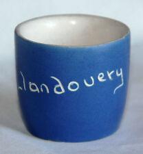Vintage Devon Pottery Blueware Egg Cup - Llandovery