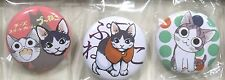 Chi's Sweet Home badge set of 3 promo anime cat official