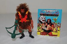 Grizzlor -1985/Mexico- (Masters of the Universe) 100% komplett mit Comic