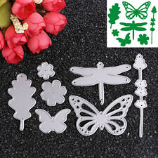 Dragonfly Butterfly Cutting Dies DIY Scrapbooking Album Card Embossing Craft