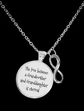 The Love Between Grandmother and Granddaughter Is Eternal Gift Necklace