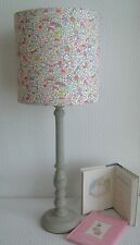 Liberty Tana Lawn - Toy Garden Handmade Childrens Lampshade 20cm Drum