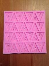Alphabet Flags Silicon Mold