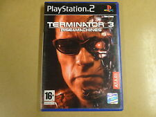 PLAYSTATION 2 GAME / TERMINATOR 3 RISE OF THE MACHINES
