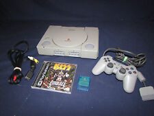 ps1 PlayStation 1 Video Game Console Bundle with kiss Tested  Works great!