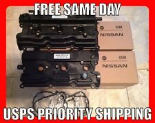 NISSAN MURANO VALVE COVERS LEFT AND RIGHT NEW UPDATED OEM 03 04 05 06 07