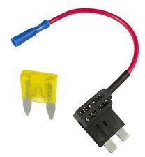 Aggiungere un circuito PIGGY BACK fusibile RUBINETTO STANDARD BLADE FUSE HOLDER ATO 12V
