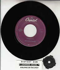 "CROWDED HOUSE  Distant Sun 7"" 45 rpm record + juke box title strip NEW RARE!"
