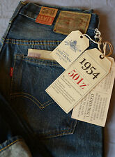 LEVIS LVC 501Z XX - SELVEDGE 1954 STYLE JEANS - GENUINE BNWT - CHEAPEST ON EBAY