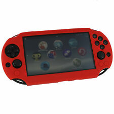 ZedLabz SC-1 silicone skin protector cover case Sony PS Vita 2000 Slim red