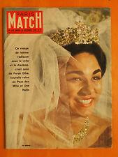 Paris Match N° 559 du 26/12/1959-Farah Diba reine au pays des Mille & Une Nuits