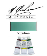 M Graham Watercolor 15ml Tube Viridian 33-195
