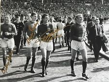 12x16 ENGLAND 1966 WORLD CUP SIGNED PHOTO GEOFF HURST MARTIN PETERS GEORGE COHEN