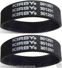 Kirby Genuine Vaccum Belts  Upright Vacuum Cleaner Knurled 2 Included MPN 301291