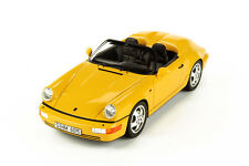 GT Spirit Porsche 911 964 Speedster Speed Yellow GT008CS 1:18*New Item* In Stock