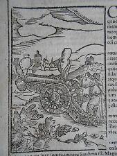 1. Kanone Schlacht von Venedig - Genua 1380 Venezia Genova Johannes Wolf 1600
