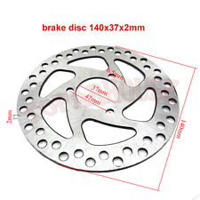 140mm Gas Scooter Brake Disc Rotor For  47cc 49cc Pocket Bike Mini Moto ATV Quad