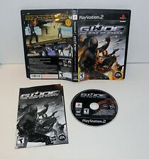 G.I. Joe  The Rise of Cobra   Sony Playstation 2 .Ps2.  complete