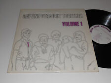 GAY AND STRAIGHT TOGETHER Volume 1 VG++ odr 1003 Open door records lesbian
