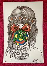 CHRIS ROBINSON BROTHERHOOD CONCERT GIG POSTER Signed #d FLA BLACK CROWES CRB '16