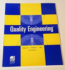 QUALITY ENGINEERING VOL 19 NO 3 2007 AMERICAN SOCIETY FOR QUALITY Marcel Dekker