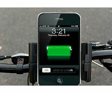 Universal Bicycle Dynamo Generator USB Charger Holder For Mobile Smart Phone GPS