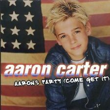 CD AARON CARTER AARON'S PARTY COME GET IT 2000 RARE!! Excellent Condition