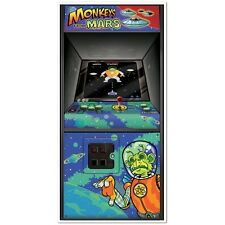 Monkeys from Mars ARCADE GAME DOOR COVER Decoration*80's Party*BACK 2 THE FUTURE