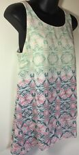 CAbI Mosaic Ombre Pastel  Sleeveless Tank Top Shell Pastel Spring 2015 Small