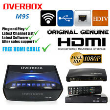 Newest Overbox m9s OPENBOX V8S v9s Satellite Receiver HD Freesat Recorder Box UK