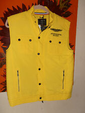 BNWT Hackett Aston Martin Gilet/Bodywarmer Yellow 15/16 years rrp £110 Xmas Gift