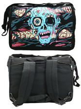 BACKPACK GOTHIC ZOMBIE HORROR ROCK PUNK EMO GOTH LAPTOP BACKPACK BAG MESSANGER