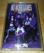 """New Kids On The Block """"No More Games - The Remix Album"""" 1990 Cassette Tape"""
