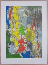 Eddie BOTHA The Rat Race original signed painting art abstract wall
