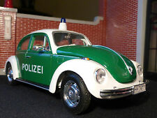 VW Beetle Police Polizei Car Welly 1:24 Scale Diecast Detailed Model 22436