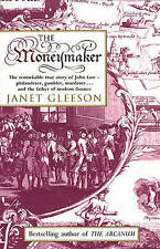 THE MONEYMAKER Janet Gleeson 2000 Bantam Paperback Book John Law Money Finance