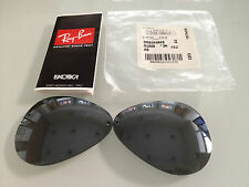 REPLACEMENT SUNGLASSES LENSES RAY BAN 3449 GREY SILVER MIRROR 003/6G CAL 59