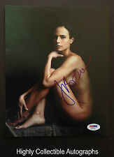 JORDANA BREWSTER SIGNED 8X10 PHOTO AUTOGRAPH PSA DNA COA AA78241