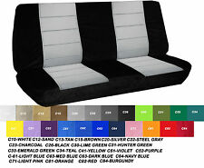 1970 Ford F100 bench seat cover  2 PIECE black/white ,other  color  available