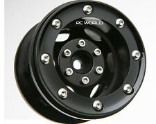 RC 1/10 TRUCK Rims Wheels 2.2 BEADLOCK ROCK CRAWLER Wheels GT (2 RIMS)